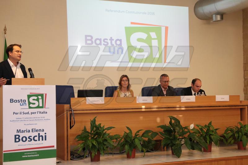 Referendum: Boschi: non è un voto su legge elettorale o su governo