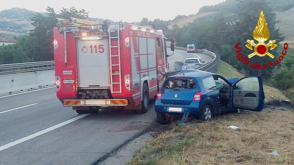 Tragedia sulla strada delle vacanze, un morto in Irpinia