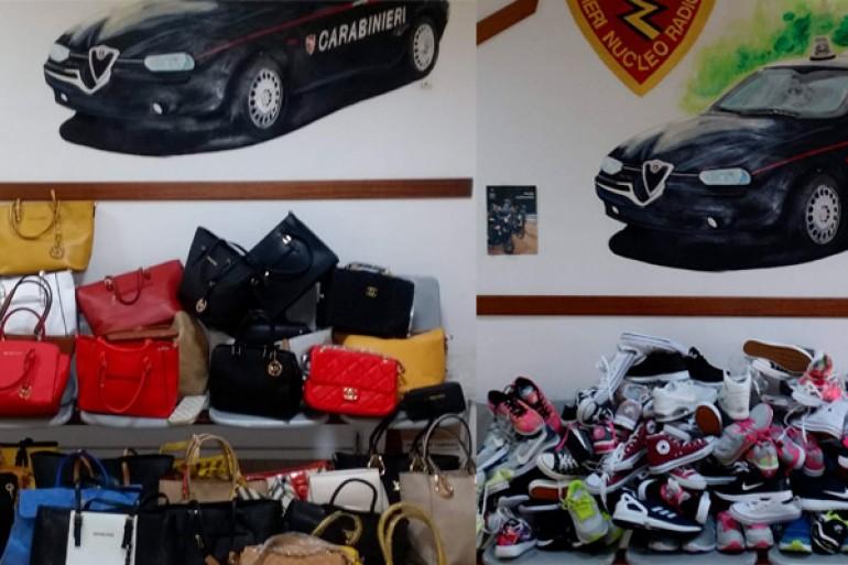 eed62bb446 Avellino, false borse Prada, Fendi e Louis Vuitton sequestrate dai  carabinieri al mercato